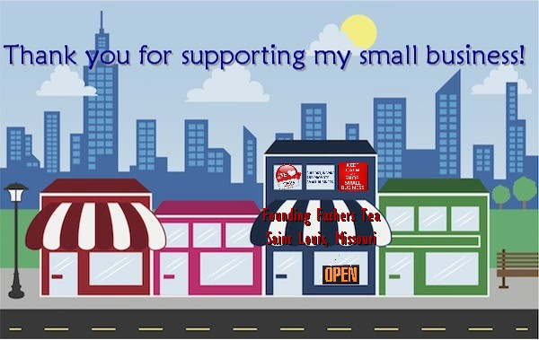 Thank you for supporting my small business.