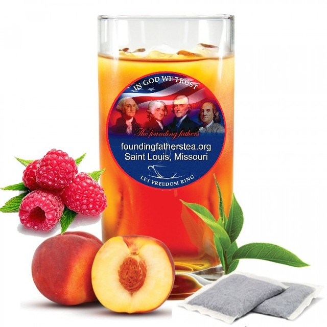 Raspberry and Peach Tea Filters